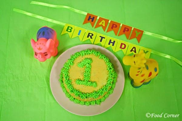 Easy DIY First Birthday Smash Cake