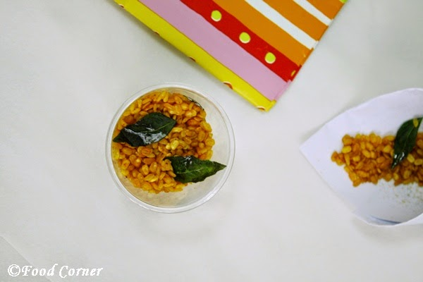 Spicy Deep Fried Moong Dhal Snack