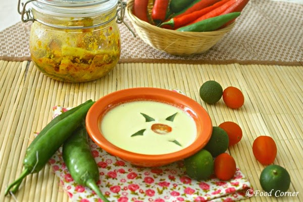 Kiri Hodi- Basic Sri Lankan Curry with Coconut Milk