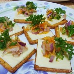 Cheesy Crackers Appetizer under 10 Minutes