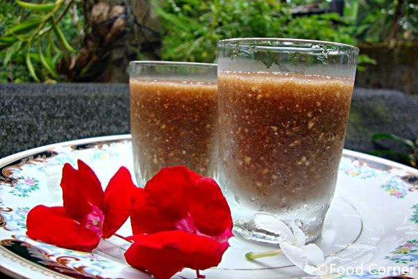 Wood Apple Milk (Wood Apple Juice)