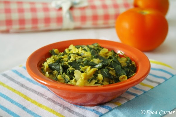 Dhal Curry with Drumstick Leaves