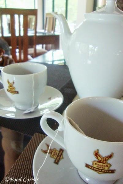 Tea @The Eagles' Cafe Weerawila-Sri Lanka