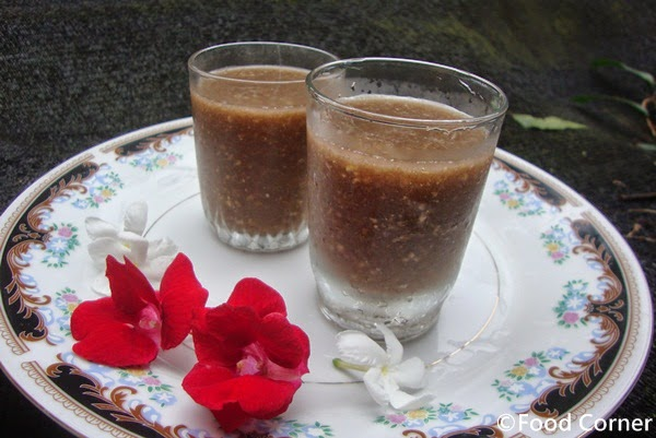 Wood Apple Milk (Wood Apple Juice) /Diwul Kiri