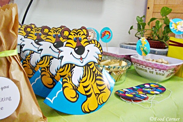 Animal Themed First Birthday Party