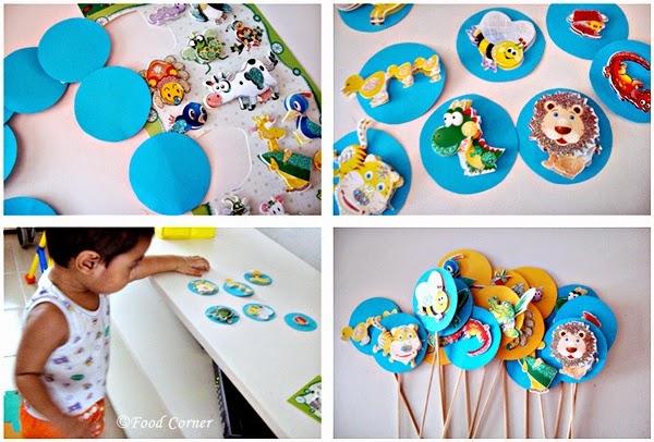 Animal Themed Birthday Cake Ideas