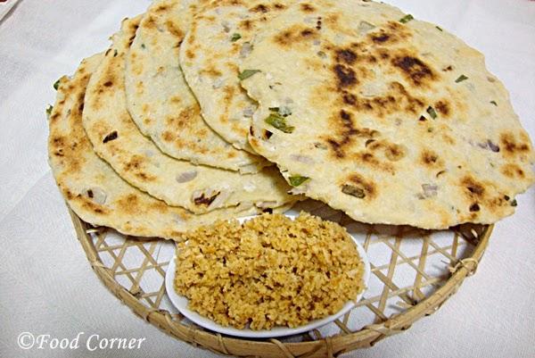 how to make sri lankan roast paan