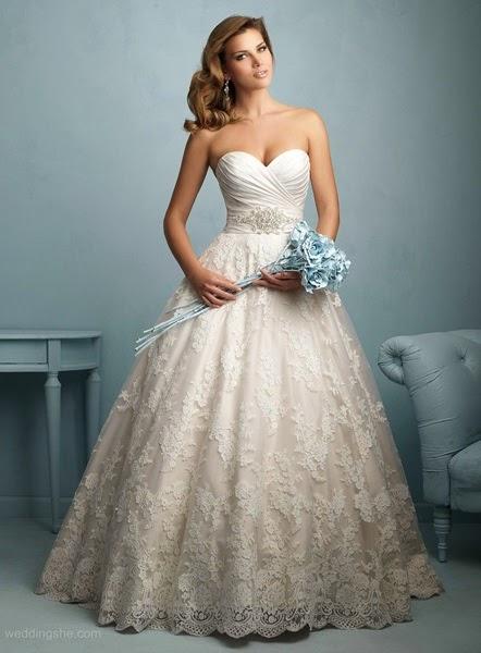 Vintage-lace-Wedding Dresses