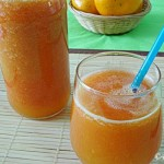 Papaya and Orange Juice (and a Hives Treatment)