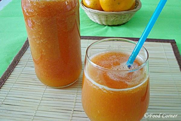 Papaya and Orange Juice (and a Hives Treatment)