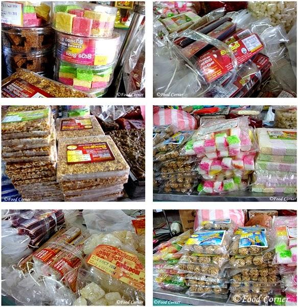 Sri Lankan Sweets & Hambanthota Kalu Dodol