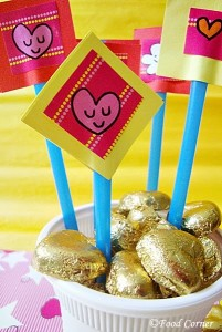 Valentine's Day Chocolate Gift -A Kids Craft