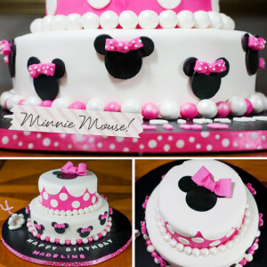 Cake Decorating Projects: Minnie Mouse