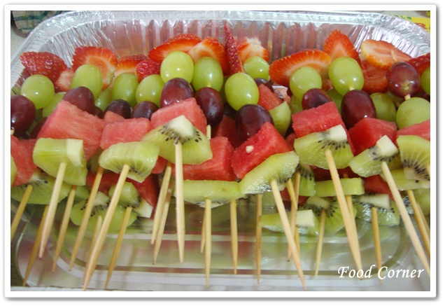 recipe: fruit kabob display ideas [19]
