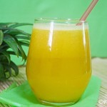 Pineapple Juice for a Hot Summer Day!