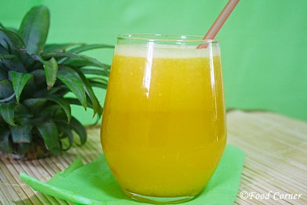 Pineapple Juice for a Hot Summer Day