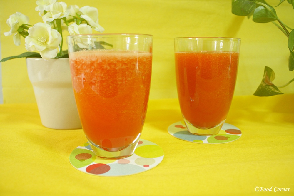 Papaya and Mango Crush