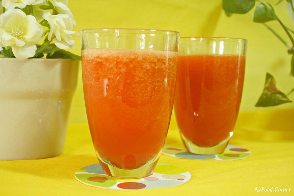 Papaya mango Crush Recipe