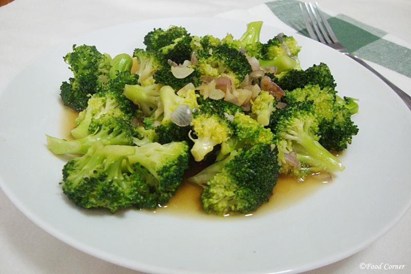 Broccoli Stir fry in soy sauce