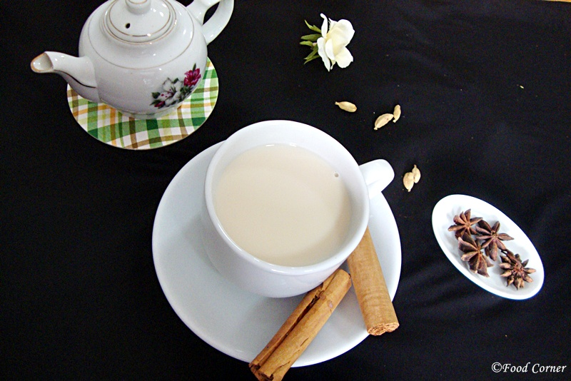 Easy Chai Tea recipe with Ceylon Black Tea