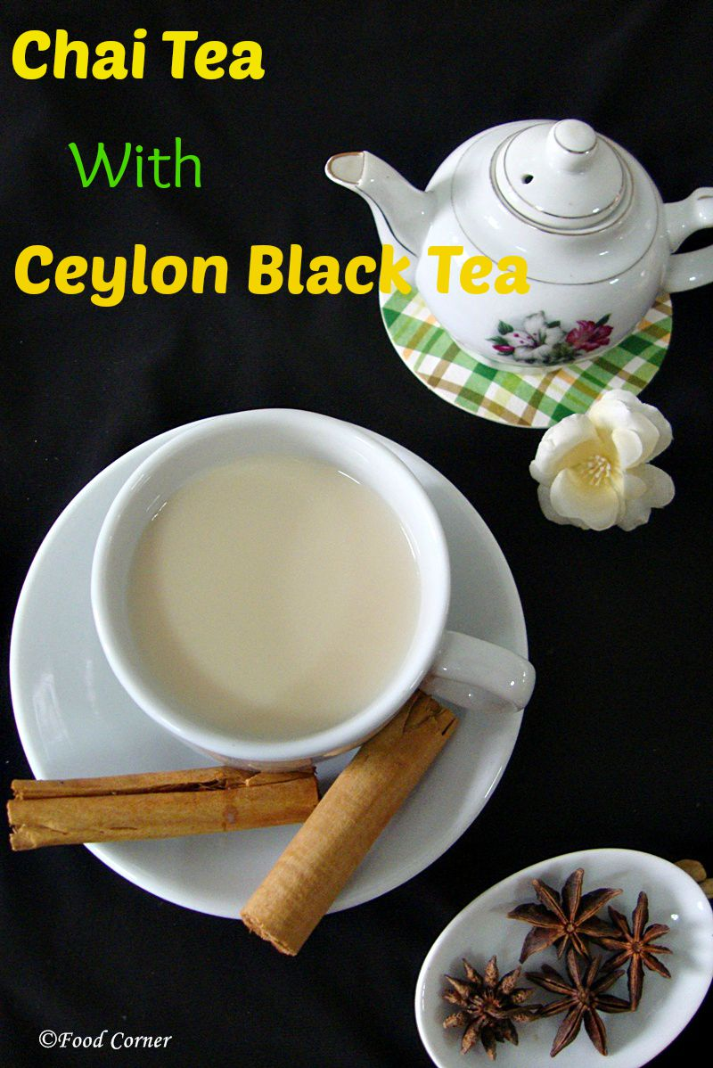 Chai Tea with Ceylon Black Tea