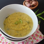 Sri Lankan Dhal Curry with Green Chilli-Parippu Curry
