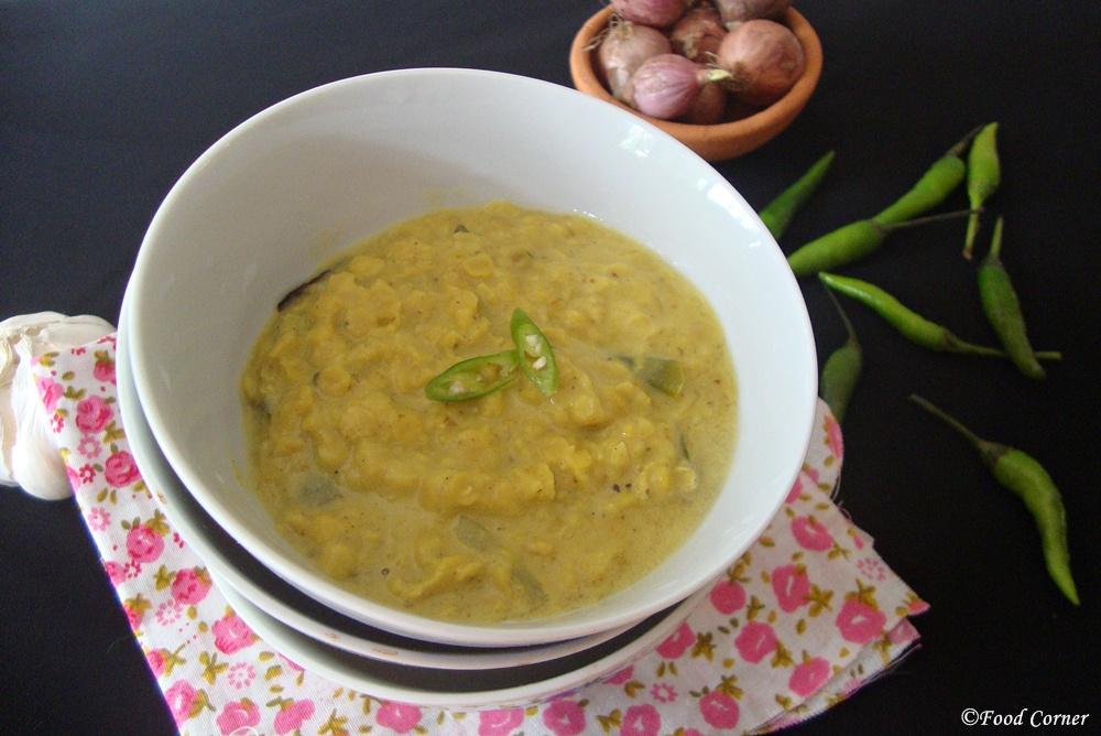 Sri Lankan Dhal Curry