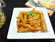 Pasta in Bell pepper sauce