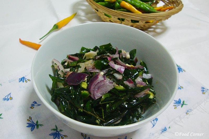 Kathurumurunga Leaves Salad