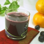 Grapes and Orange Juice-Easy & Delicious