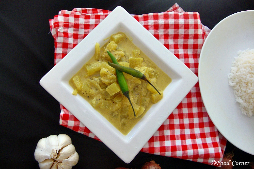 Sri Lankan Winter Melon Curry (Alu Puhul Curry)