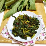 Sweet Potato Leaves Stir Fry (Bathala Kola Recipe)
