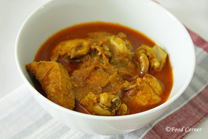 Spicy Chicken Curry with Curd