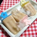 Matcha Tea Popsicles with Yogurt