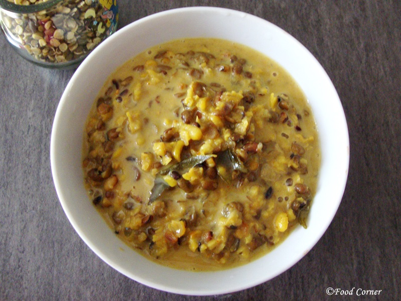 Split Mung Beans Curry from Sri Lanka