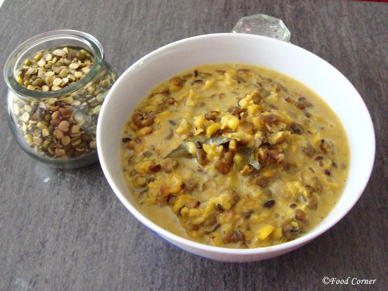 Split Mung Beans Curry from Sri Lanka