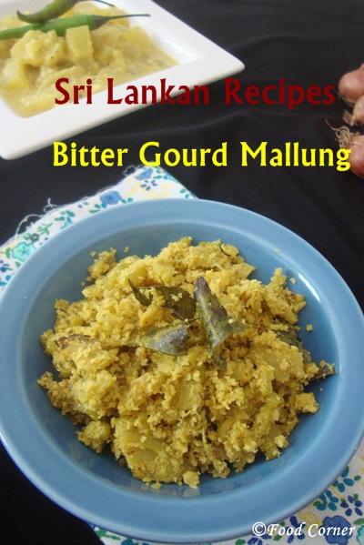 Karawila Recipes from Sri Lanka