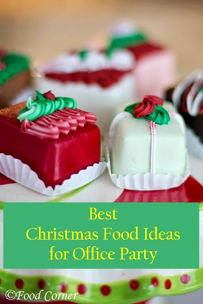 Best Christmas Food Ideas for Office Party