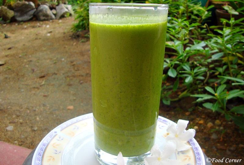 Kola Kanda recipe (Herbal Porridge)