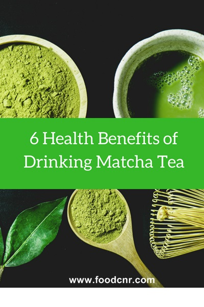 6 Health Benefits of Drinking Matcha Tea