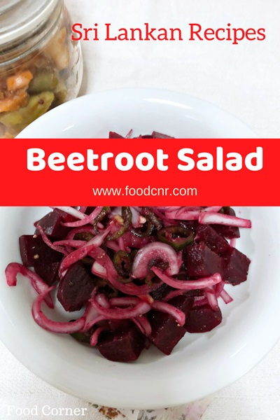 Sri Lankan Beetroot Salad