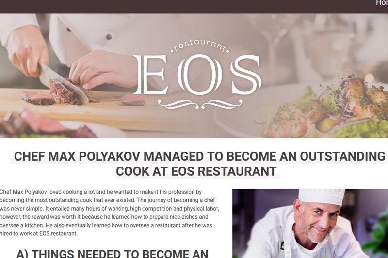 EOS Restaurant