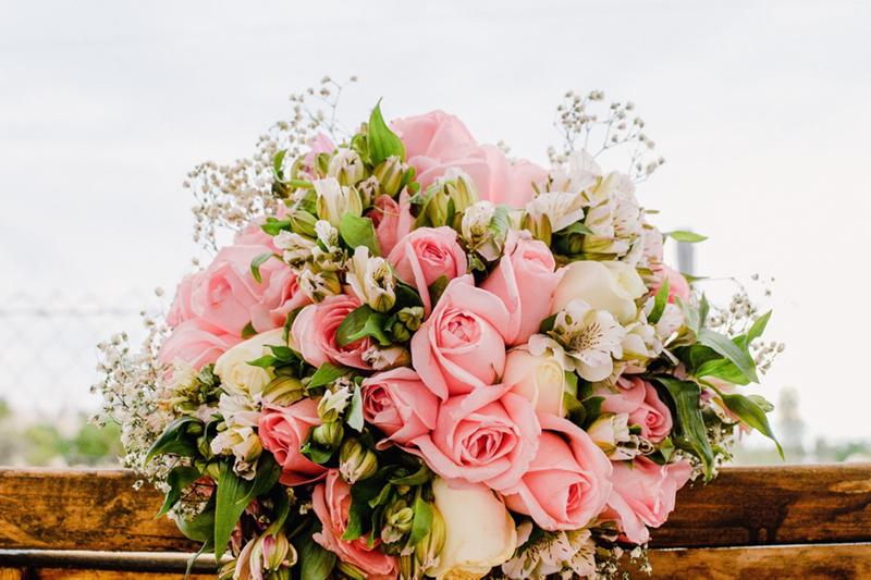 Arrangements for a Wedding Hand Bouquet