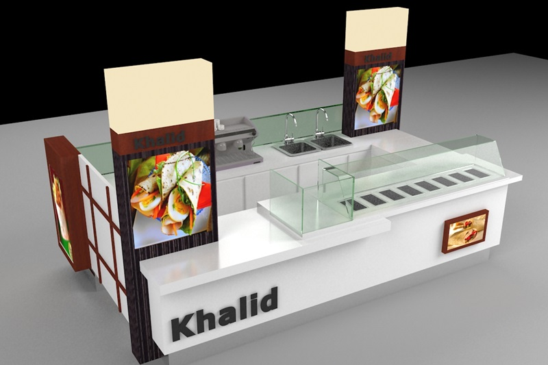 design & manufacture food kiosk