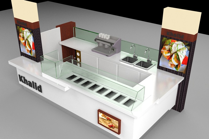 design & manufacture food kiosk