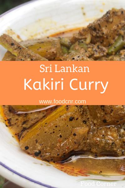 Sri Lankan Kakiri Curry