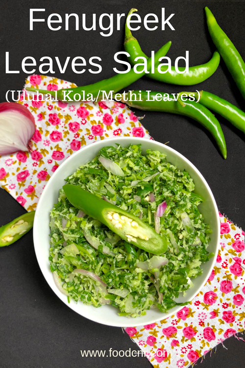 Fenugreek Leaves Salad