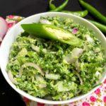 Fenugreek Leaves Salad (Uluhal Kola/Methi Leaves)
