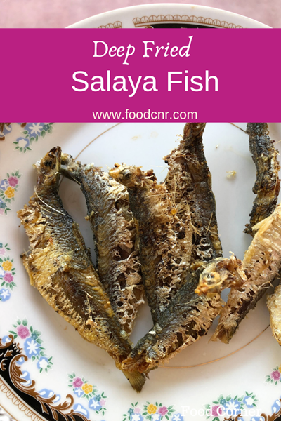 Salaya fish deep fried