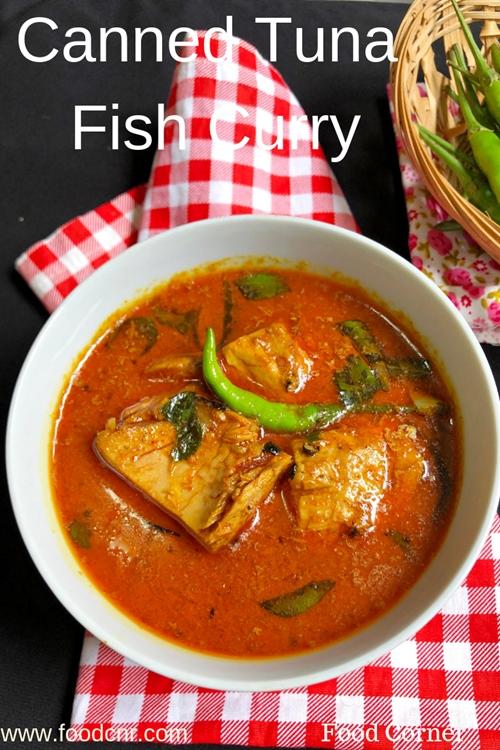 Canned Tuna Fish curry